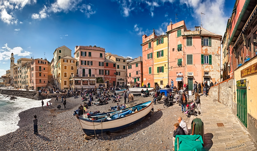 Boccadasse, Photo de Paolo Margari