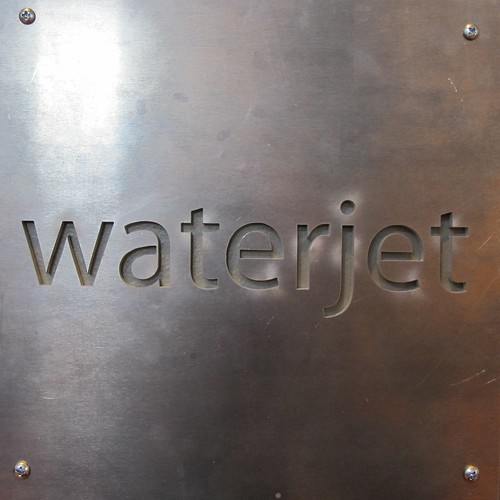 waterjet | by The Tinkering Studio