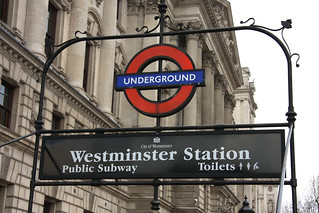 CRE_Digital_Education_Marketing_London_Underground_Sign_Westminster_IMG_6324 | by Click-Recruit-Enrol