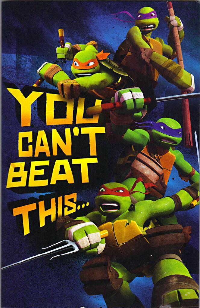 American Greetings Nickelodeon Teenage Mutant Ninja T Flickr
