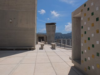 馬賽公寓 Unite d'Habitation Marseille - Rooftop 屋頂 (Photo by Benedicte Gandini) | by 準建築人手札網站 Forgemind ArchiMedia