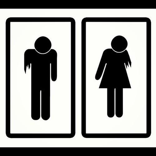 #zombie bathroom signs. | on Instagram instagr.am/p/WGNy ...