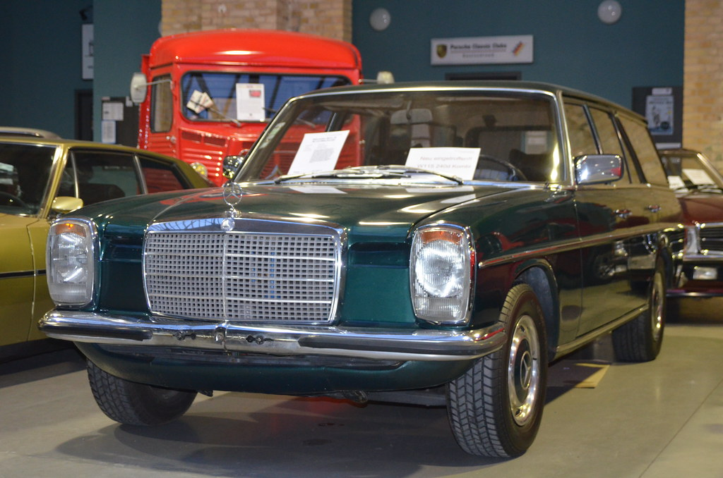 Mercedes-Benz -8 W115 240D Movauto (Portugal) Station Wago ...