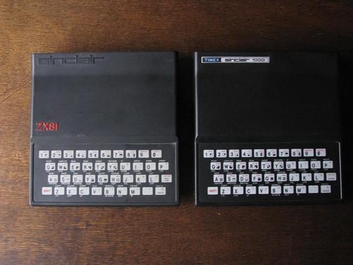 Sinclair ZX81 + Timex Sinclair TS1000