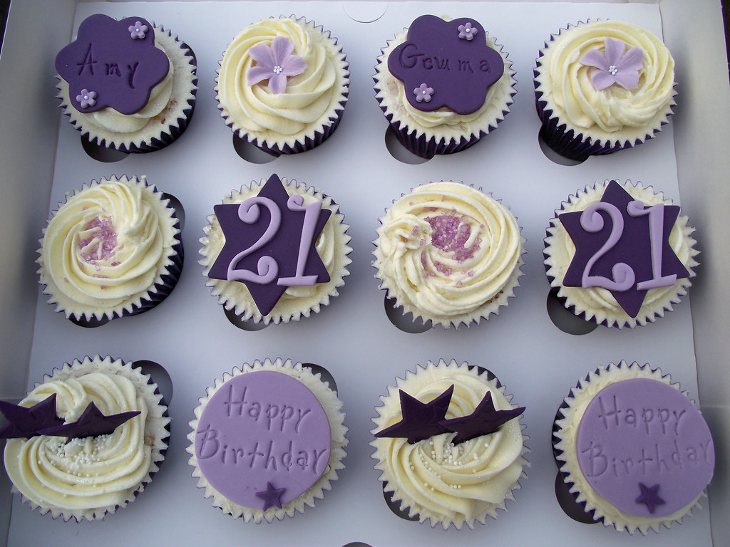 21st Birthday Cupcakes Suzanne Wood Flickr