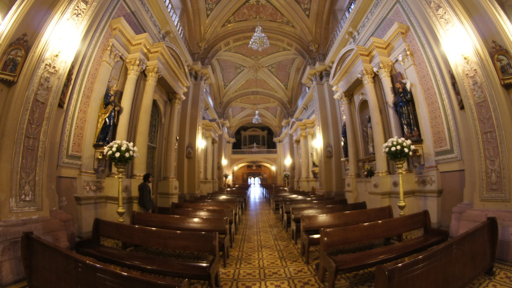 Templo San Agustin, San Luis Potosi.