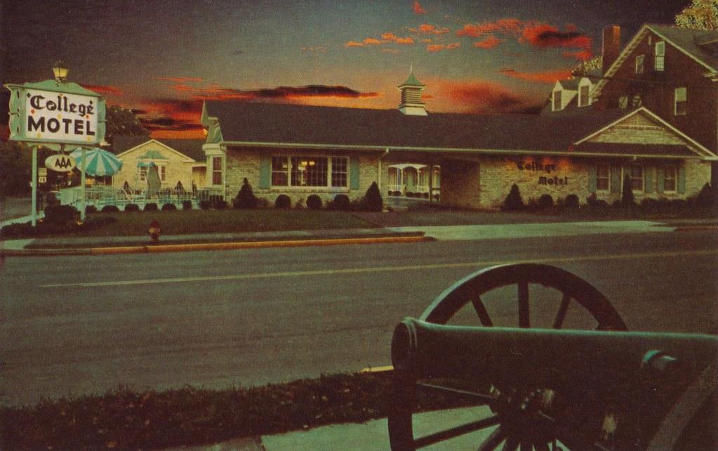 College Motel - Gettysburg, Pennsylvania