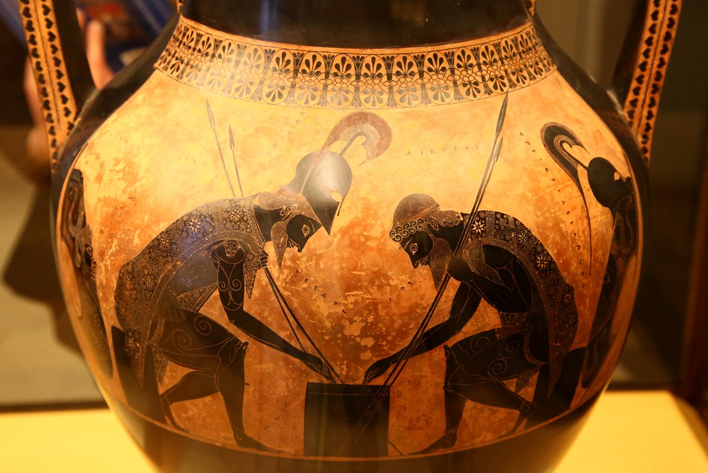 Ajax And Achilles At Draughts Done By The Athenian Master Flickr