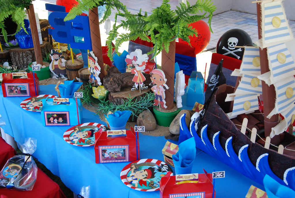 Decorating Ideas > Jake & The Neverland Pirates Party  Treasures And  ~ 025644_Birthday Party Ideas Jake And The Neverland Pirates