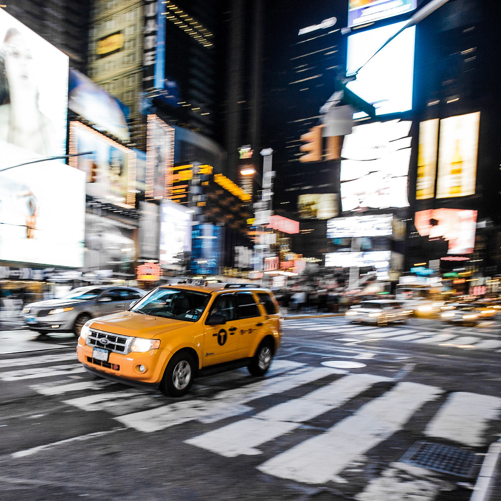 2013 Ford Escape Hybrid: Ford Escape Hybrid Yellow Taxi, New York City, NY