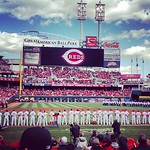 The boys are back! #reds #openingday