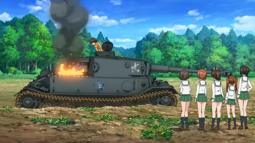 Vk4501 Porsche Tank Gt Girls Und Panzer Anime Review