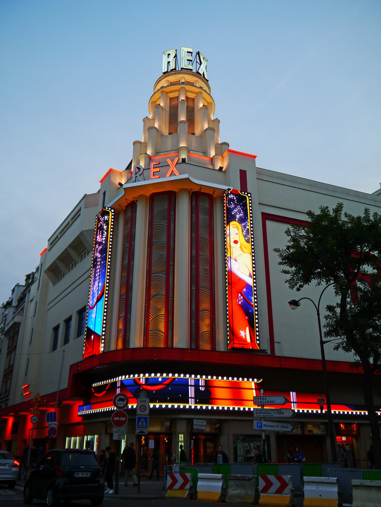 paris france le grand rex this is the largest cinema th flickr. Black Bedroom Furniture Sets. Home Design Ideas