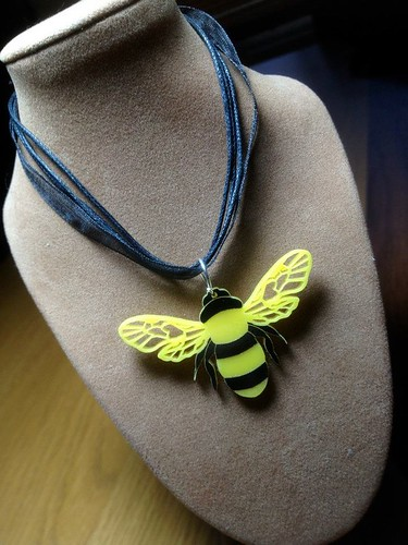 Summer bee necklace | by Richardson & Richardson