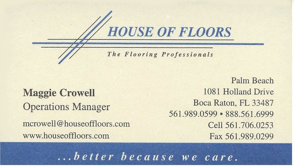 Business Card - Maggie Crowell, Boca Raton, FL | Maggie was … | Flickr