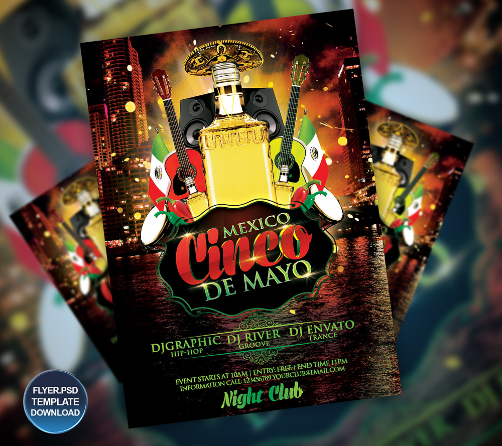 cinco de mayo flyer poster template you can download the t flickr