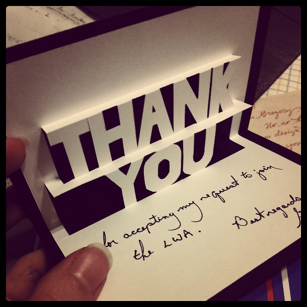 Handmade, pop-up thank you card. | We have the best ...