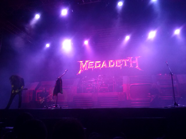 Megadeth (ft. Armored Down) em Belo Horizonte/MG - 09/08/16
