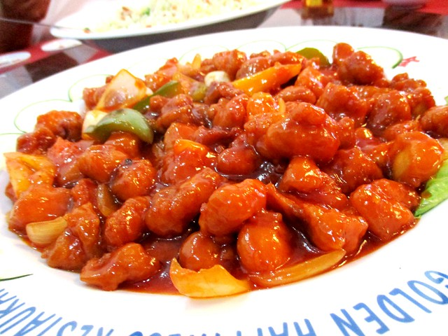 Golden Happiness sweet and sour pork