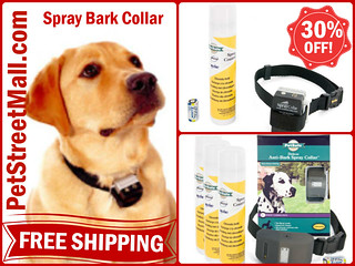 Spray Bark Collars -30% Off and Free Shipping -PetStreetMall.com | by The Pet Saver