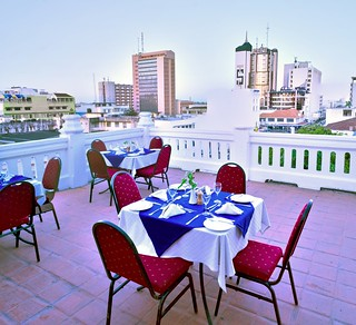 Castle Royal Mombasa - Rooftop Dining | by BetterLifeCycle