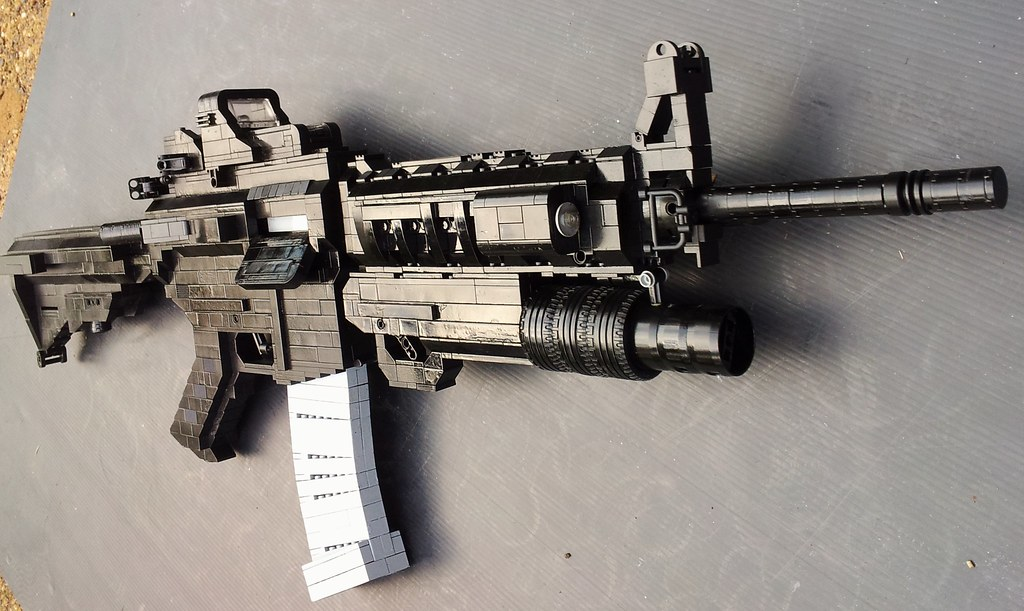 lego m4 please tell me what you think begining end
