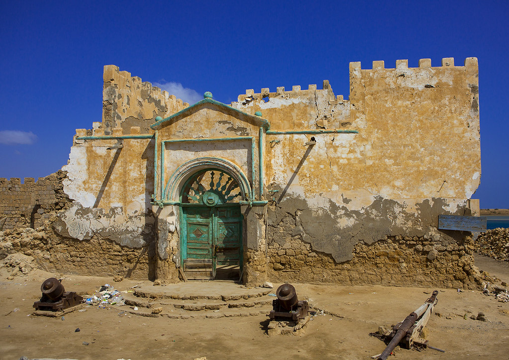 Ruined Ottoman Coral Buildings, Suakin, Sudan