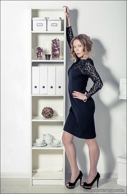 Sexy Secretary Near Office Cupboard Buy Photo At