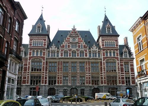 Bruxelles schaerbeek belgique c t ouest de l 39 h tel comm flickr - Roi du matelas schaerbeek ...