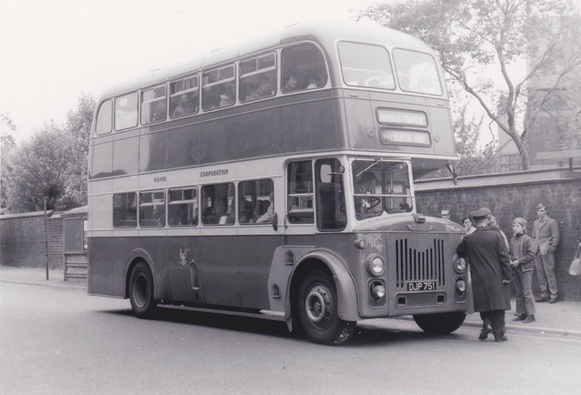 Widnes Corporation Transport, Lancashire - Leyland Titan fleet number 16, DJP 451
