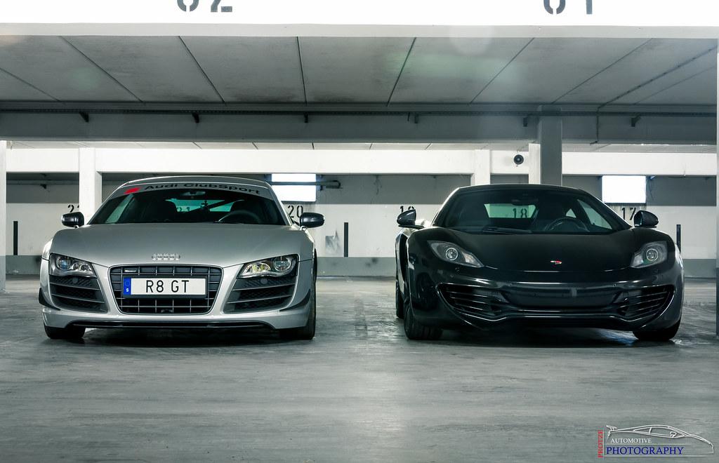 Audi R8 V10 Gt Vs Mclaren Mp4 12c Gran Turismo Event