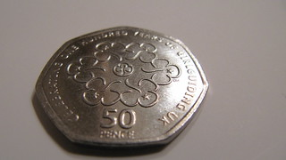 50p piece celebrating 100 years of GirlGuiding UK | by HowardLake