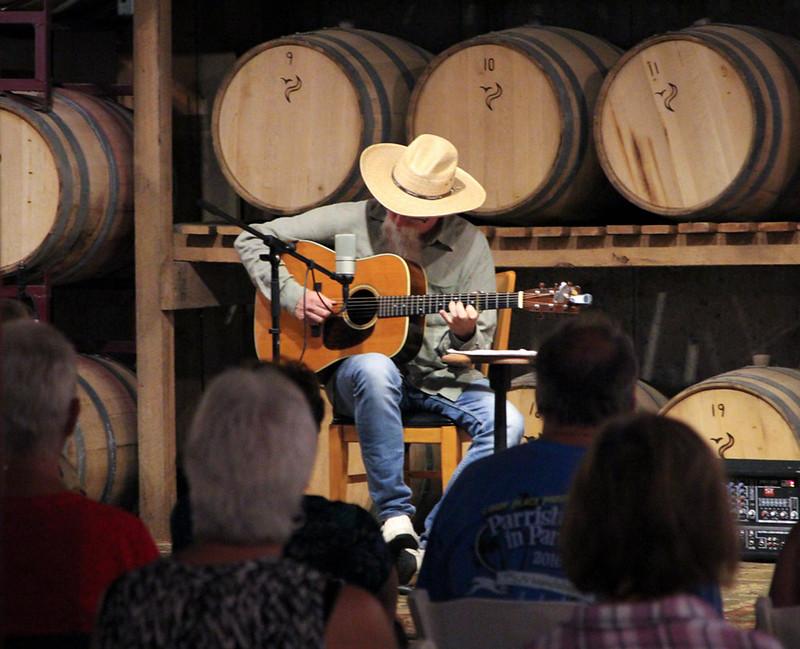 David Grier in concert at Peaceful Bend Vineyard