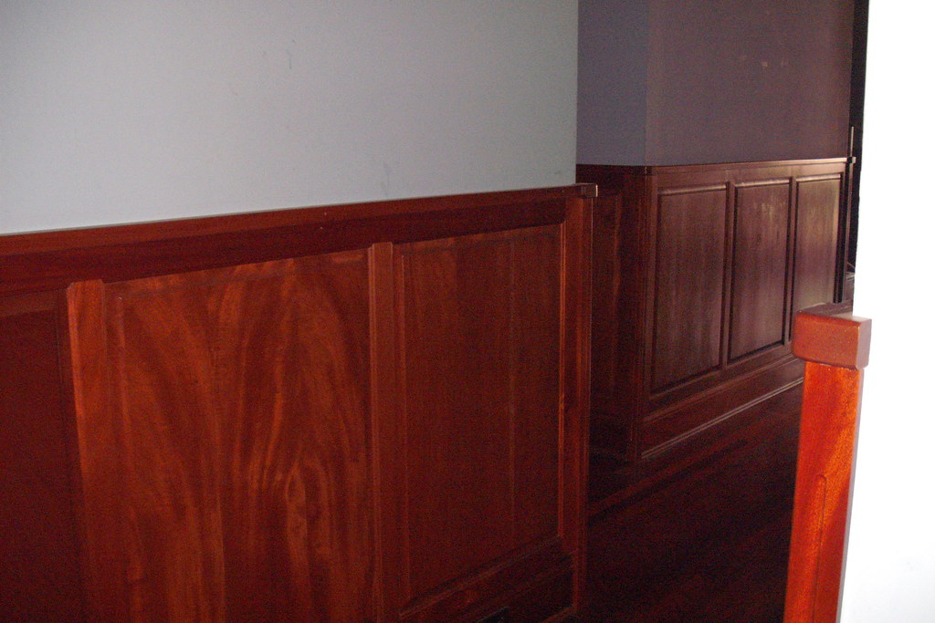 Frame Panel Wainscoting This Is The Frame Panel Wainsc Flickr