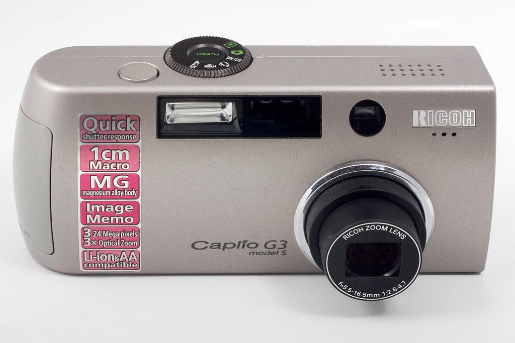 RICOH Caplio Pro G3 Camera Mac