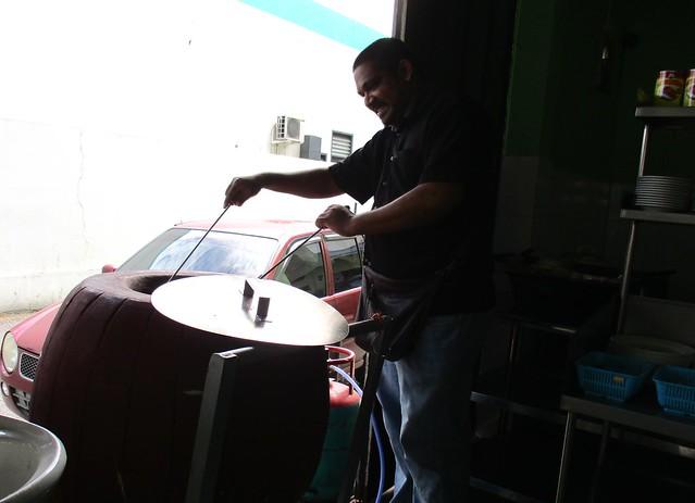 Guna & his oven