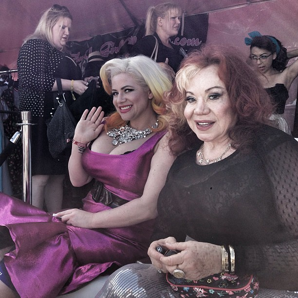 Right now at @pinupgirlclothing booth! @la_cholita and Kit… | Flickr Kitten