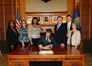 Financial Literacy Proclamation Signing 2013 | by Kansas.Securities