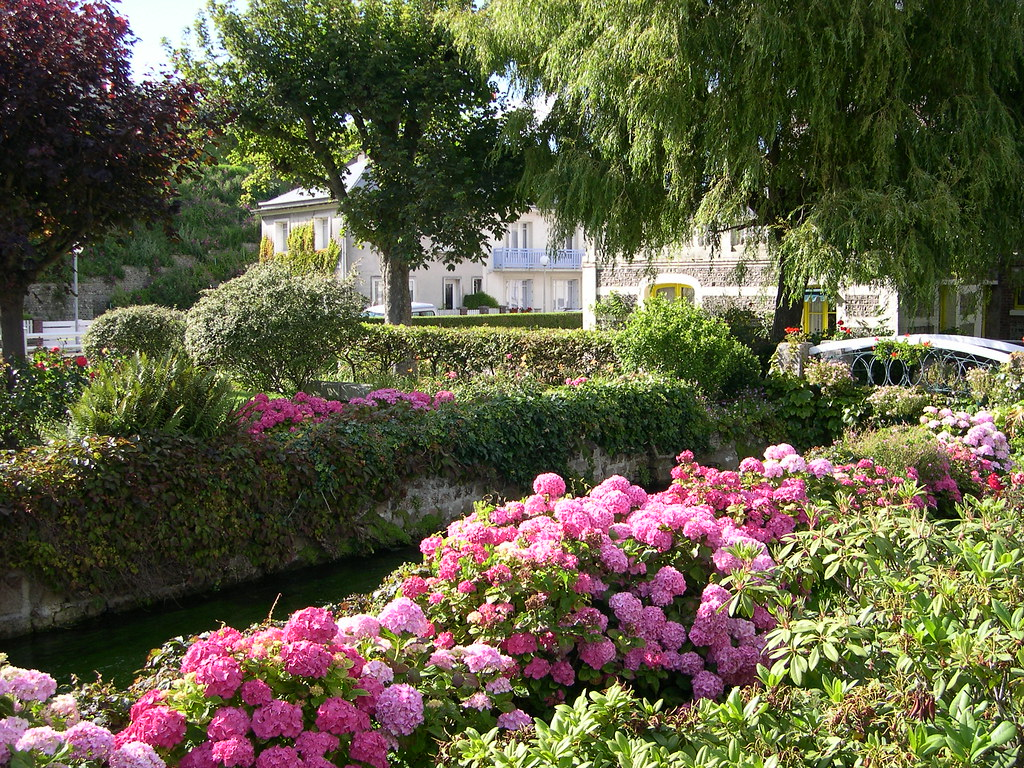 veules les roses jardin fleuri au dessus de la veules flickr. Black Bedroom Furniture Sets. Home Design Ideas