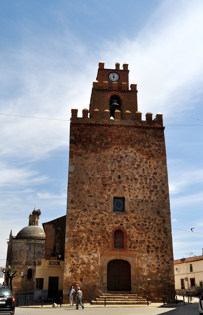 Aceuchal Badajoz Iglesia De San Pedro Apostol Torre Flickr