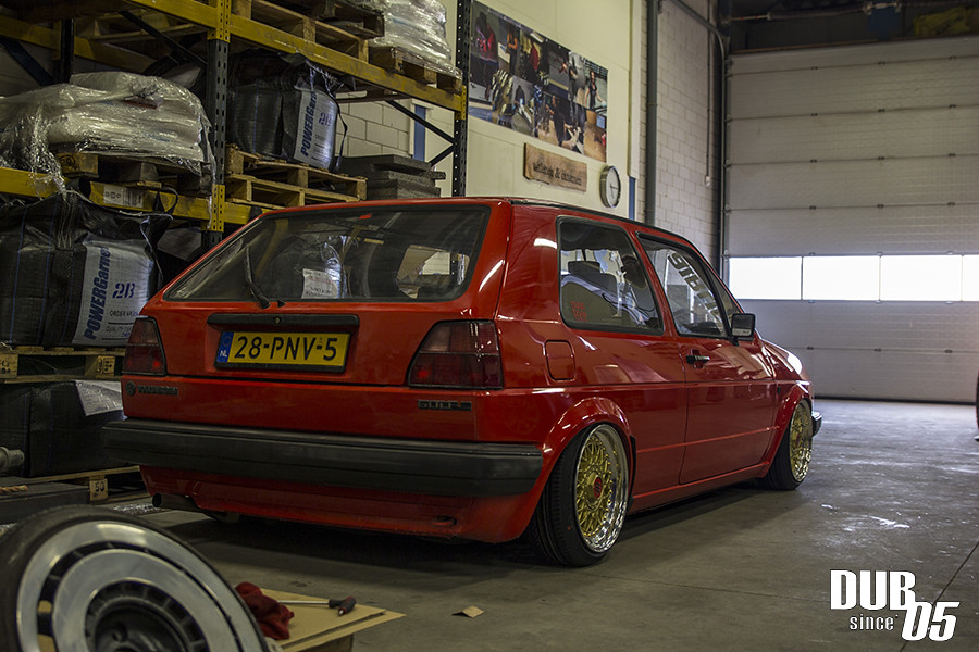 Golf 2 Airride Our Mk2 On Air Trabistyle Flickr