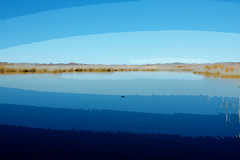 Cutouts of Mittry Lake