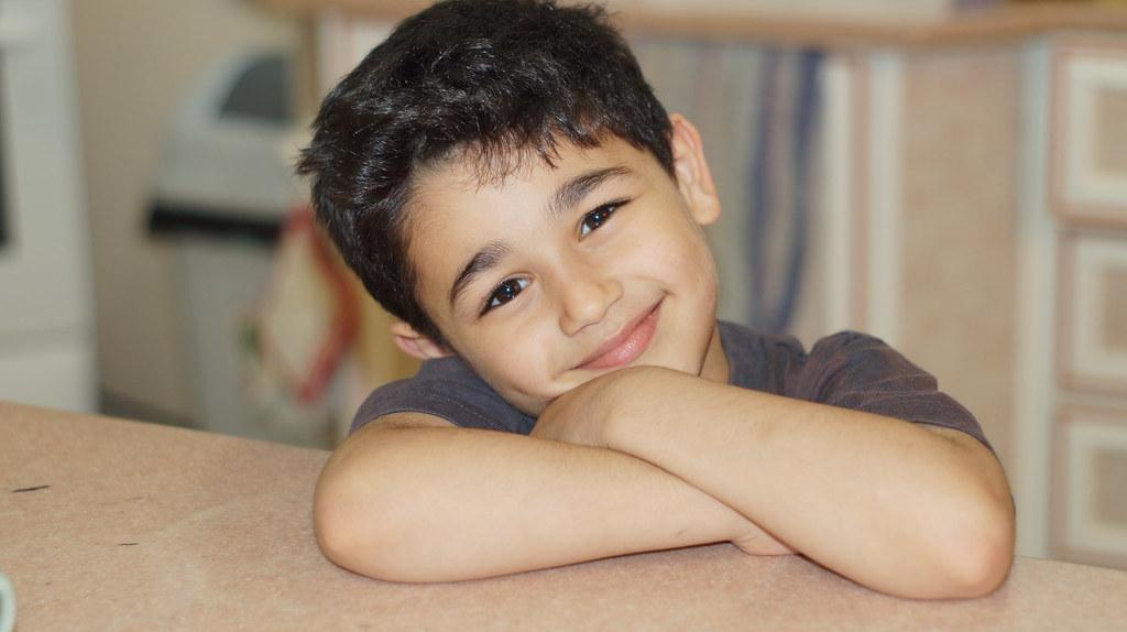My 6 Year Old Boy