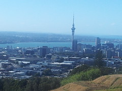 Sky Tower from Mt Eden