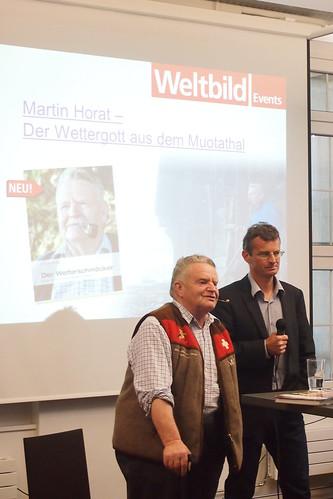Martin horat 012 martin horat zu gast beim weltbild for Verlag weltbild