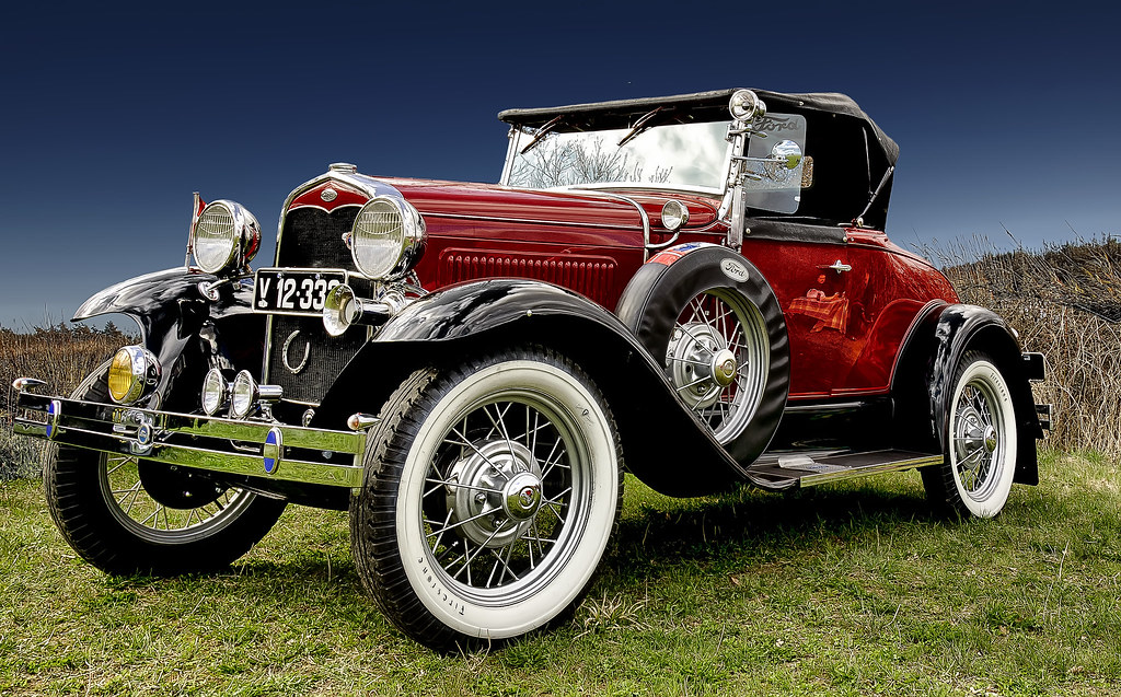Classic Car HDR Ford A Roadster 1931 | classic car photograp… | Flickr