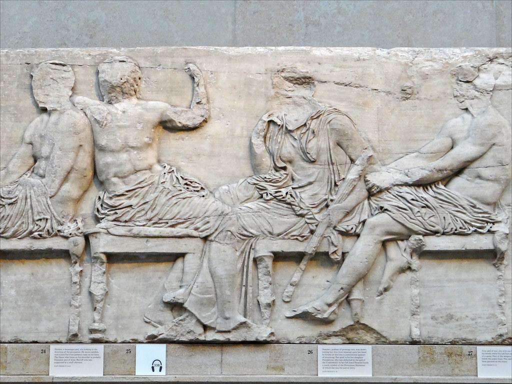 Sculptures du Parthénon (British Museum) | Les Dieux (de ...