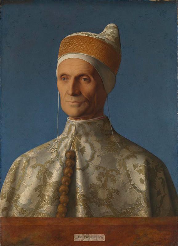 Джованни Беллини. Портрет дожа Леонардо Лоредано в традиционном для дожей головном уборе
