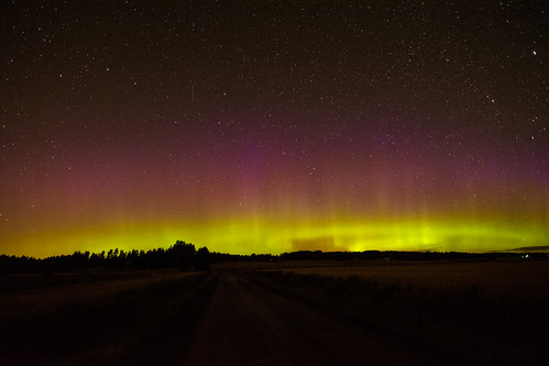 Moving auroras