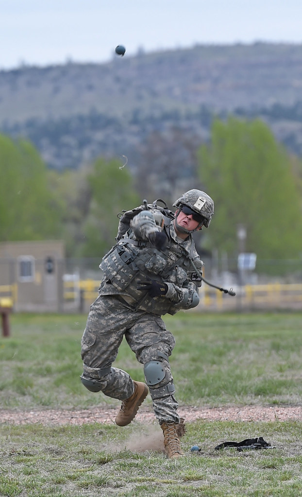 11b Hpdt Wyoming Army National Guard Pfc Albert Bridge